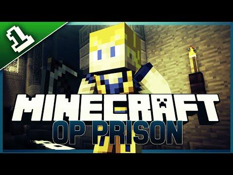 Minecraft OP Prison Server Ep.1 FORTUNE 100 PICK