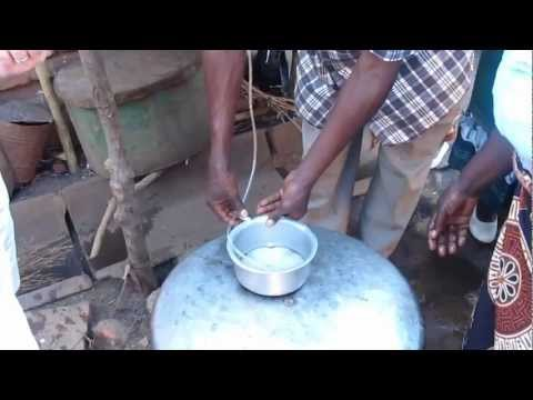 Gravity fed water filter in use today in Malawi. Eradicates Cholera and harmful pathogens