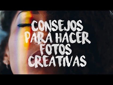CÓMO HACER BUENAS FOTOS CREATIVAS - CHRISTIAN GARCÍA
