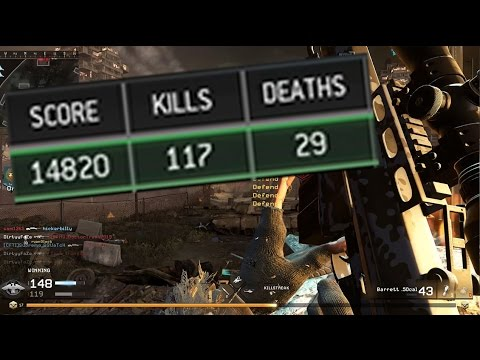 120 KILLS IN ONE GAME! Modern Warfare Remastered Sniping