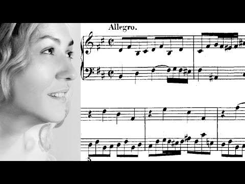 Бах Иоганн Себастьян - BWV 893 - Прелюдия №24 (си минор)