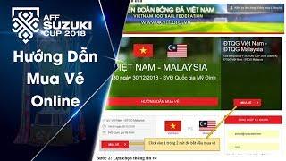 Video hướng dẫn khán giả mua vé trực tuyến qua hệ thống bán vé online của VFF | VFF Channel