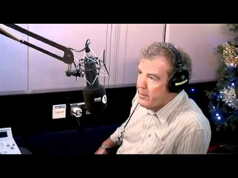 Jeremy Clarkson with Chris Moyles