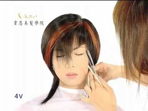 Asymmetrical mullet haircuts,Fashion hairstyles,Short Women hairstyle,Vern Scissors-Hairstyle 1