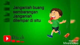 Download Lagu Lirik Lagu Anak -  buang sampah Gratis STAFABAND