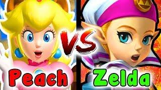 HYRULE Castle VS PEACH Castle Which One Is Better? - (Super Mario Versus Legend Of Zelda)