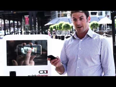 Quickcharge Kiosks: Mobile Phone Battery Charging Kiosks