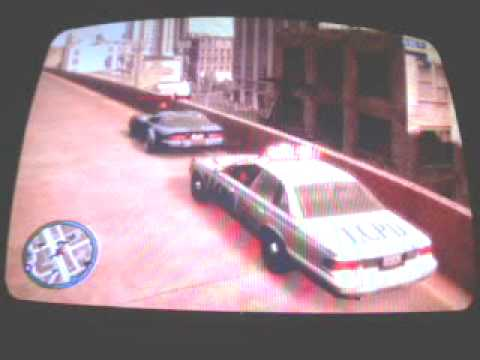 (GTA IV) POLICE CHASE BLOOPER