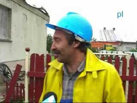 Trąba Powietrzna Nad Powiatem Strzeleckim - Usuwanie Szkód