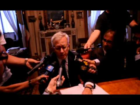 Giulio Tremonti: Roma, il BackStage della legge finanziaria, un ministro diverso…più vicino…