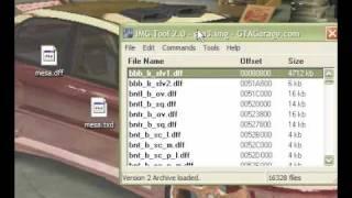 Como cambiar autos en el GTA San Andreas con IMG Tool