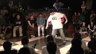 HOOK UP POP 2012.4.20 【SEMI FINAL】 EUN-G VS CGEO