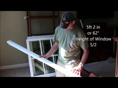 Sash Pack DIY Window Replacement PVC Easy Cheap Affordable