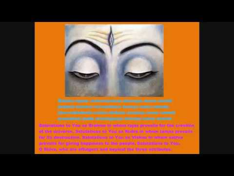 SHIVA MAHIMNA stotram Lyrics & Meaning - A very soothing & melodious hymn