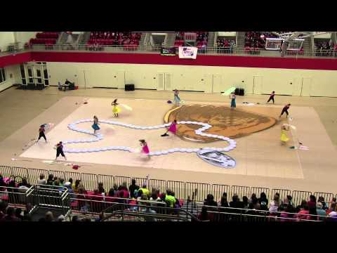 03-29-14 Keller High School Varsity Winterguard - NTCA National A Championships