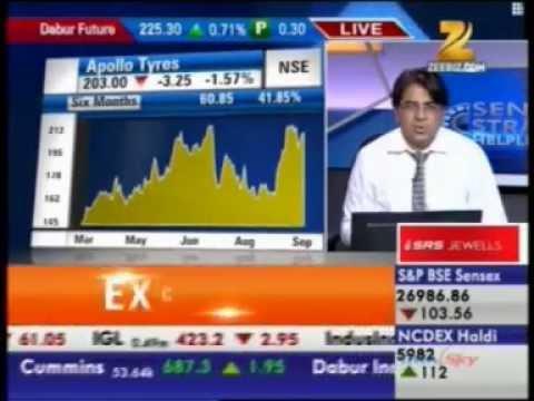 Mr Puneet Kinra - AVP Research on  Zee Business Sensex Strategy Helpline 22 Sept 2014