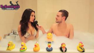 Milla (Les Princes de l'Amour 3) dans le bain de Jeremstar INTERVIEW