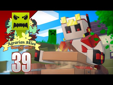 Minecraft Skyblock con MODS! Agrarian Skies Ep 39 - El reproductor!