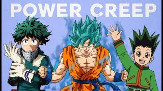 Handling Power Creep in Shonen Anime