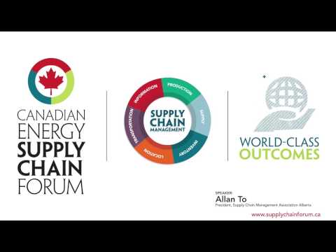 Canadian Energy Supply Chain Forum 2014: October 28 -30