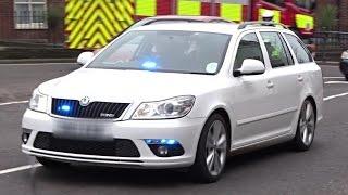 Kent Police // Unmarked Skoda Octavia Driver Training Unit // On Driver Training Run