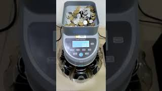 New coin sorting and counting machine