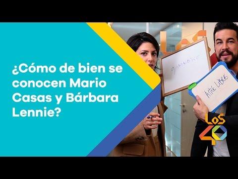 ¿Cómo de bien se conocen Mario Casas y Bárbara Lennie?