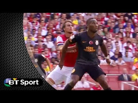Didier Drogba's 'embarassing' dive against Arsenal | #BTSport