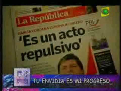 Chile envidia a peru??? TV PERUANA (Parte 1)