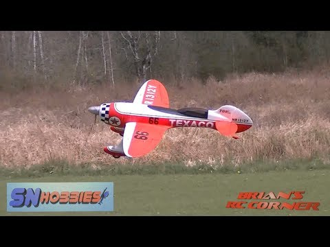 SN Hobbies - Gee Bee R3 Fantasy Racer Maiden Flight