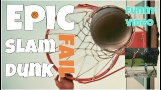 Epic slam dunk fail 🔸 7 second of happiness FUNNY Video 😂 # 383