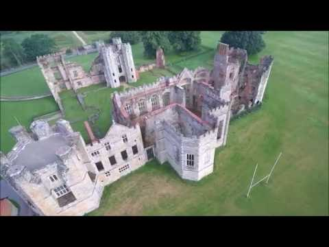 Yuneec Typhoon H - Cowdray Castle Ruin