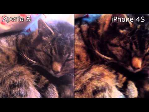 Sony Xperia S vs. Apple iPhone 4S Camera Test 1080p Video