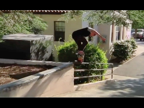 INSTABLAST!   360 Flip Blunt Varial Heel Out! Skater In Security Headlock! Fun Rain Skateboarding!