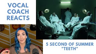 Vocal Coach Reacts to 5 Seconds of Summer - Teeth
