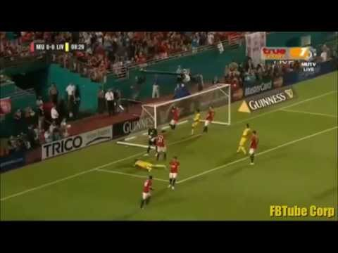Manchester United vs Liverpool All Goals And Highlights - Final International Champions Cup 2014