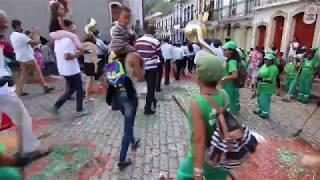 Banda Bom Jesus das Flores encerra o domingo de Páscoa em Ouro Preto