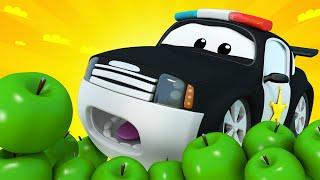 đội xe tuần tra - Tiệc sinh nhật của Matt - Thành phố xe 🚗 những bộ phim hoạt hình về xe tải