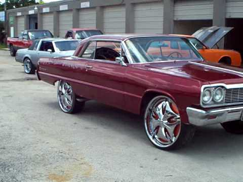 1964 chevy impala on 26