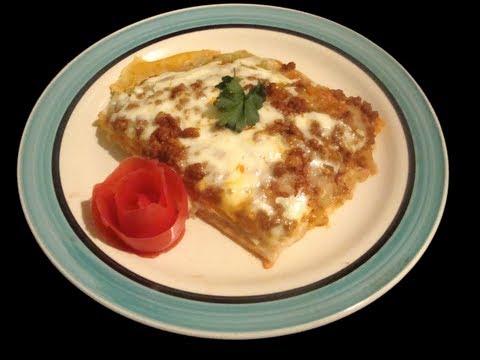 Receta de Torta Azteca Comida mexicana Deliciosa