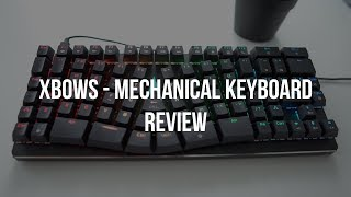 X-Bows Ergonomic Keyboard - Programmers Review