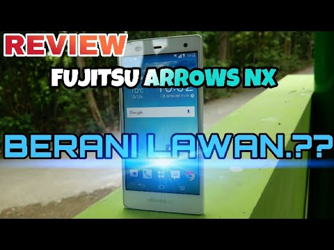 Review lengkap FUJITSU arrows NX F-01F INDONESIA - HP Terbaik Dikelasnya