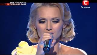 03 - Аида Николайчук - Color of the night X Factor 4 прямой эфир