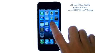 Apple iPhone 5 - iOS 6 - How do I Set an Alarm