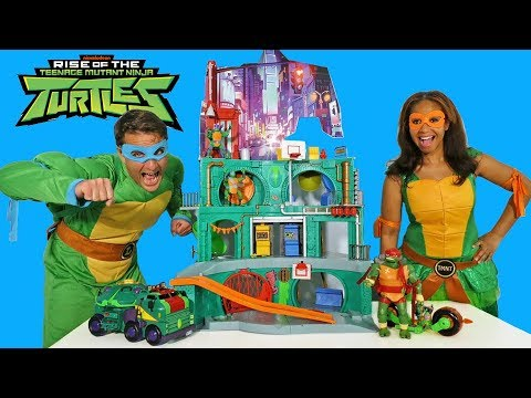 Rise of the Teenage Mutant Ninja Turtles Toy Challenge !    Toy Review    Konas2002