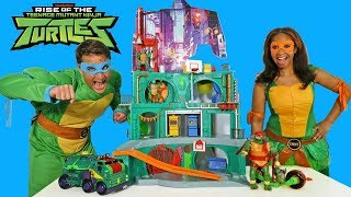 Rise of the Teenage Mutant Ninja Turtles Toy Challenge ! || Toy Review || Konas2002