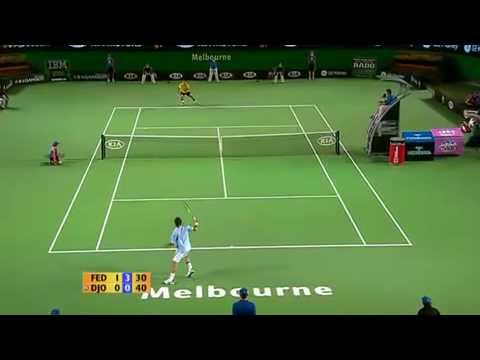 Roger Federer vs Novak Djokovic Australian Open 2007 Highlights
