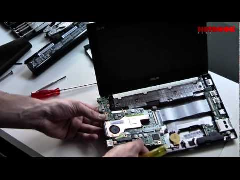 Smontare un Eee PC 1025C - RAM Upgrade & Teardown