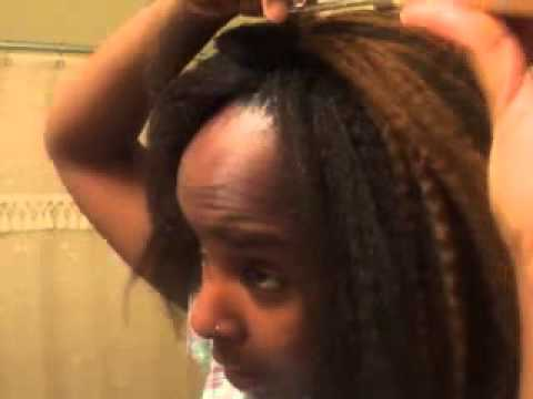 My Last Hair Challenge HairStyle ★Marley Braid Crochet   *Pt.2