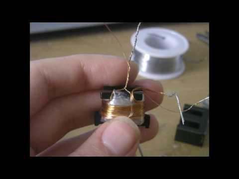 ***آموزش ساختن ترانس های ولتاژ 0هم برا شوکر میشه هم برای اینورتر مهتابی***